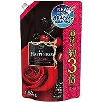 【大容量】 レノア ハピネス 柔軟剤 ヴェルベットローズ&ブロッサム 詰め替え 超特大 1260mL