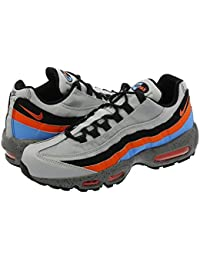 [ナイキ] NIKE AIR MAX 95 PREMIUM WOLF GREY/SOLAR RED/AURORA GREEN/HYPER COBALT/ANTHRACITE/BLACK 【26.0cm~29.0cm】 [並行輸入品]