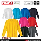 トムス glimmer グリマー ドライ長袖Tシャツ 00352-ail M 031ネイビー
