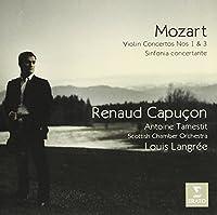 Mozart: Violin Concertos 1 & 3 Sinf by Renaud Capucon (2015-01-14)