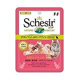 シシア (Schesir) キャット パウチ チキン&ビーフ 70g×20個