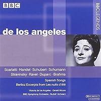 Scarlatti / Handel / Schubert / Schumann / Stravinsky / Ravel / Duparc / Brahms / Berlioz & Spanish Songs by Victoria de los Angeles (2002-10-22)