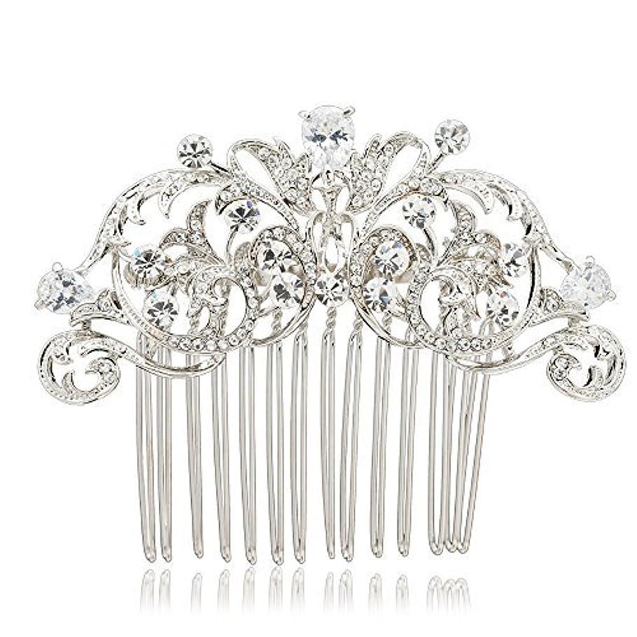 事写真撮影対抗SEPBRIDALS Crystal Rhinestone Hair Side Comb Pins Bridal Wedding Women Hair Accessories Jewelry 2253R [並行輸入品]