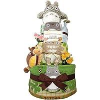 おむつケーキ となりのトトロ 出産祝い 男の子 女の子 3段 4001(出産祝い)