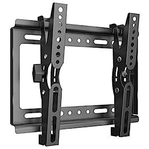 テレビ壁掛け 金具 Himino 高品質14~40インチ モニター LCD LED液晶テレビ対応 上下調節式 VESA対応 最大250*210mm 耐荷重25kg(ネジ付属)