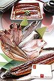 お中元 ギフト 干物セット 特大 うなぎ 蒲焼 入り 5種 2~3人前 干物 一夜干し【冷凍】越前宝や れんこ鯛 さば はたはた あじ 土用 丑の日