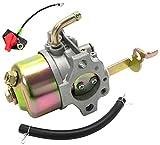 キャブレター ロビン エンジン EY 20 用 農業用機械 小型建設機械 社外品 部品 互換 スイッチ セット (タイプ3)
