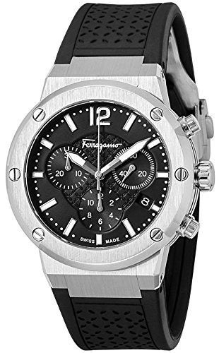 [サルヴァトーレフェラガモ]Salvatore Ferragamo 腕時計 F-80 ブラック文字盤 FIH010015 メンズ 【並行輸入品】