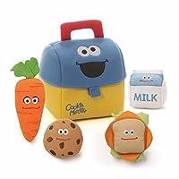 GUND Sesame Street Cookie Monster Lunch Box Playset [並行輸入品]