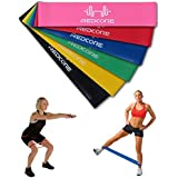 QIMISI Resistance Bands, Pull Up Assist Bands Best Fitness Exercise Bands For Working Out Or Physical Therapy