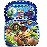 "Disney Toy Story Backpack 16"", Rolling Backpack 16"" & Lunch Bag 8"" for Kids (Optional - Depending on Selections) (Backpack Blue)"