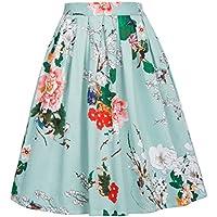 GRACE KARIN Women's Casual Bubble Skirts A-line CL6294