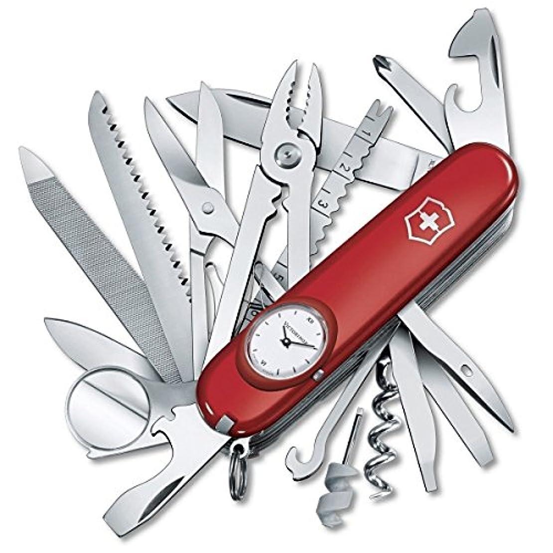 暖かく外科医雇用者ビクトリノックス VICTORINOX 1.6796 スイスチャンプ 時計付