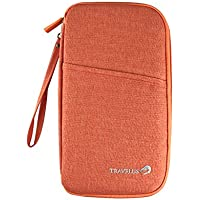 KEENICI Multi-Functional Document and Passport Holder Travel Wallets Organizer Case for Men and Women