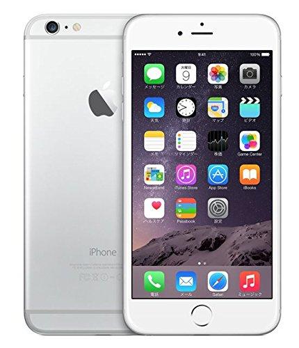 【SIMフリー】Apple iPhone6 64GB simfree docomo対応 softbank対応 au対応 ワイモバイルYmobile対応 格安SIM対応 MVNO対応 (シルバー)