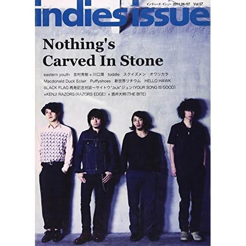 indies issue 57 ナッシングスカーブドインストーン イースタンユース ブラック