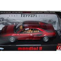 MATTEL DL 1/18 フェラーリ モンディアル8 60th (F1レッド) エリート 完成品
