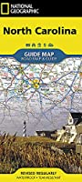 National Geographic North Carolina Guide Map: Road Map & Guide (National Geographic Guide Map)