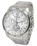 [セイコー] SEIKO 腕時計 クロノグラフ スモールセコンド 100M防水 SSB123P1 メンズ [並行輸入品]