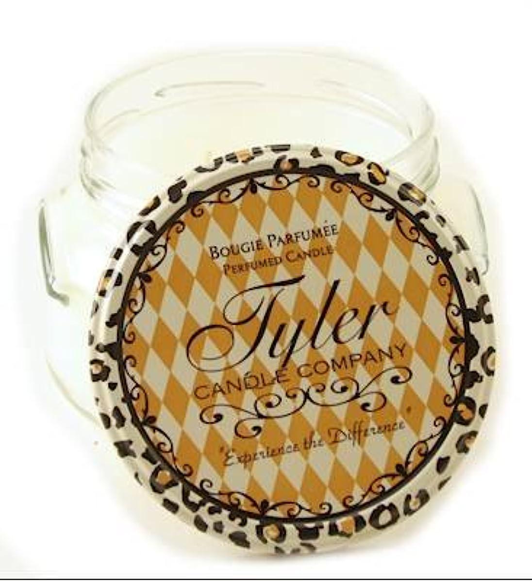 ドループ移住する習字UNPRECEDENTED Tyler 330ml Medium Scented Jar Candle