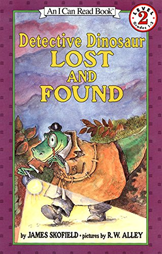 Detective Dinosaur Lost and Found (I Can Read Level 2)の詳細を見る