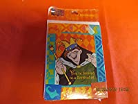 Disney's the Hunchback of Notre Dame You're Invited to a Festival Of.. Invitations [並行輸入品]