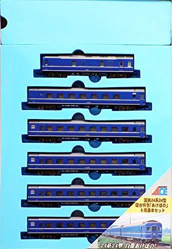 Nゲージ A0332 24系24型・白帯あけぼの基本