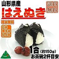山形県産 はえぬき 令和元年度産 (送料込)1合(約150g) (白米)
