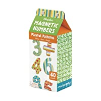 Playful Patterns Numbers Wooden Magnetic Set