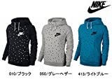 NIKE(ナイキ) スポーツ ウェア スウェット ラリーファネル AOP フーディ レディース LT BLUE LACQUER/BLACK 668931-413