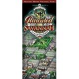 Haunted Savannah Illustrated Map