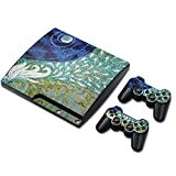 Zhhlaixing 革新的な PS3 Cover Ultra Thin Sticker Skin for クール Sticker +2 Controller for PlayStation3