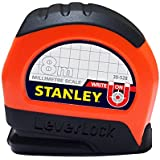 Stanley 8M Leverlock Tape, Orange