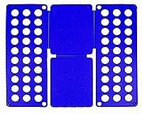 【こもれび屋】衣服折り畳み板 洋服 たたむ ボード 折りたたみ器 クイックプレス 収納力アップ 衣類 洗濯物片付け 折たたみボード 衣類簡単 整理整頓 OD12 (ブルー, 子供用)
