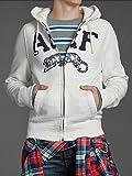 メンズ パーカー フーディー [ホワイト/A&F] アバクロンビー&フィッチ画像②