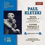 Paul Kletzki Conducts Brahms & Schubert
