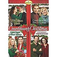 Hallmark 4-Movie Holiday Collection (Christmas Next Door/The Christmas Train/Christmas at Holly Lodge/Christmas in Homestead) [並行輸入品]