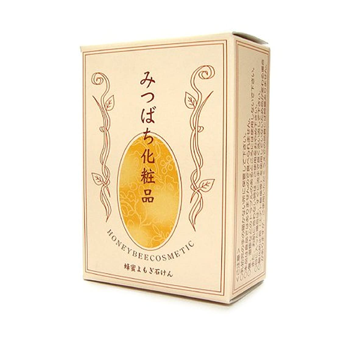 激しい閃光タオル蜂蜜よもぎ石鹸 100g