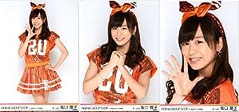 AKB48 グループショップ in AQUA CITY ODAIBA 生写真 3種コンプ 坂口 理子