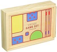 Kikkerland Vintage Game Set [並行輸入品]