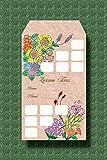 月謝袋 四季の花 10枚