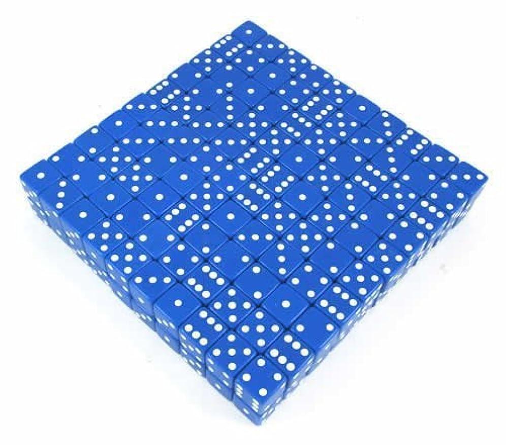 ドナウ川リップ町Blue Opaque d6 19mm 200ea