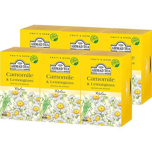ハーブティー カモミール&レモングラス ティーバッグ 20袋
