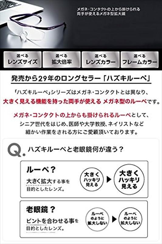 Hazuki 《하즈키》 안경식 루페 1.6배 라지 클리어 렌즈 블루 라이트35%컷