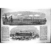 1854 の弾幕の川のナイルエジプトの進水の船ナポレオン Iii Ardrossan