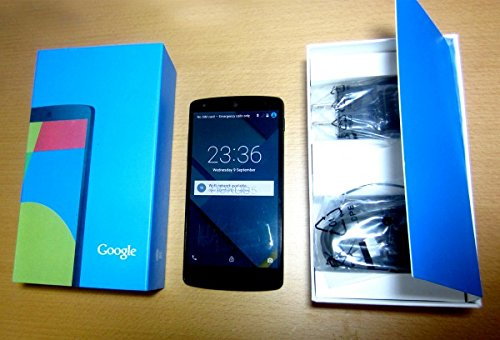 【 海外版SIMフリー】Google NEXUS5 ネクサス5 【D820/D821】 [並行輸入品] (16GB, ブラック)