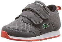 Lacoste ユニセックス・キッズ L.IGHT 417 1 SPI Sneaker カラー: グレー