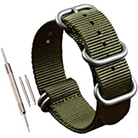 Thick Nylon Watch Band Replacement(18 19 20 21 22 23 24 25 26 28mm)