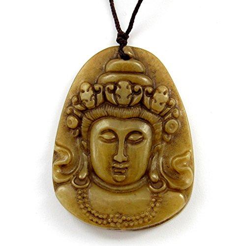 ブラウンストーンBuddhist pu-sa Buddha ...