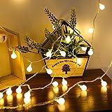 Best 3Mクリスマスデコレーション - ストリングライト イルミネーションライト LED 可愛くて小さなボール 3m 20球 電池式 室内外 Review
